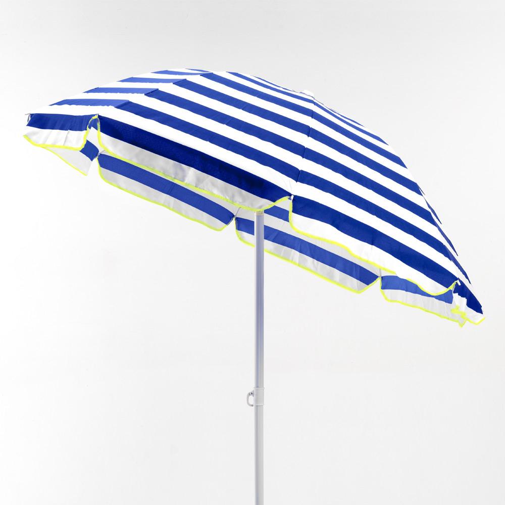 miniature 38 - Parasol de plage 200 cm portable coton Taormina