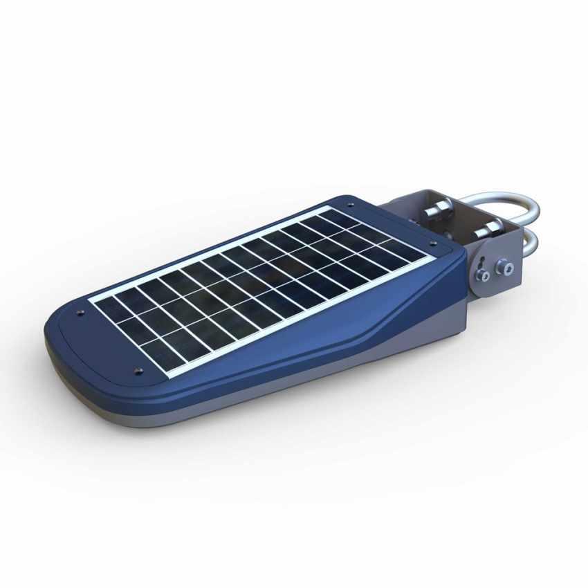 Lampione Stradale Solare a Led Giardino con Telecomando e Sensore di Movimento CALLISTO - image
