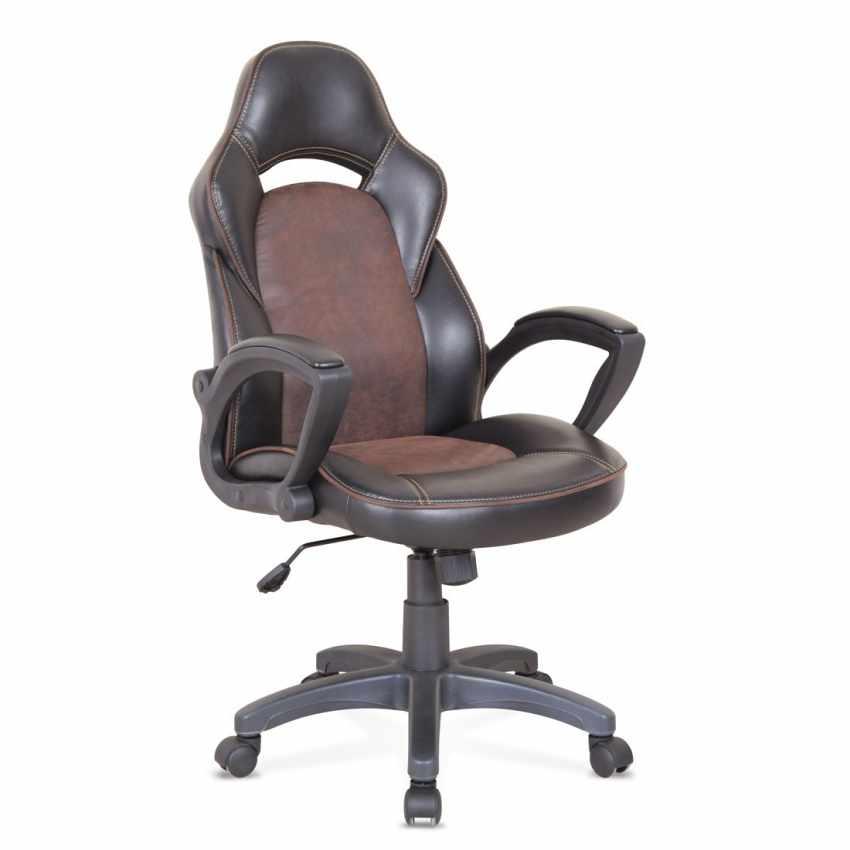 Fateuil de bureau ergonomique en similicuir sport chaise - Chaise de bureau ergonomique ...
