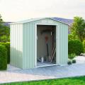 Casetta da giardino box in lamiera rimessa attrezzi Chalet NATURE 213x127x195cm