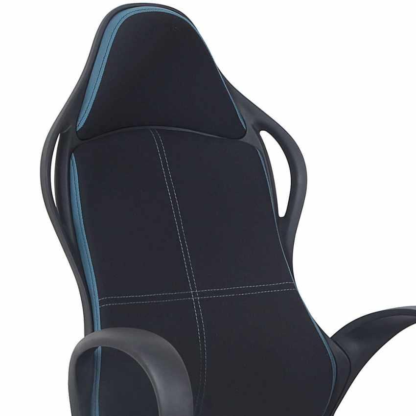 Chaise de bureau sport fauteuil gamer ergonomique microfibres LOS ANGELES - offert