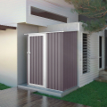Box lamiera giardino zincata metallo grigio casetta utensili Amalfi 143X89x186cm