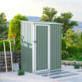 Box lamiera giardino zincata metallo verde casetta utensili Amalfi NATURE 143X89x186cm