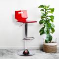 Sgabello per bar e cucina acciaio cromato SAN JOSE Design Moderno - price