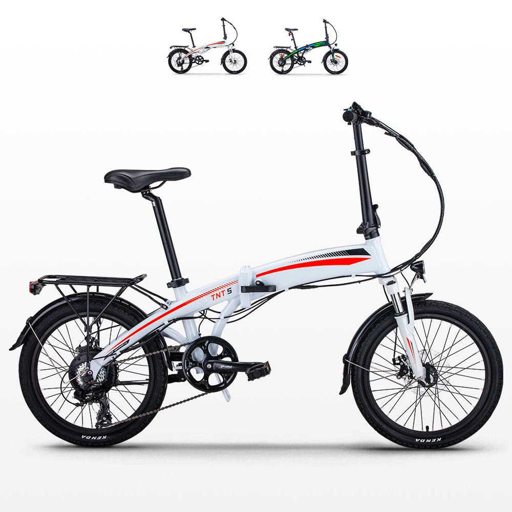Bici bicicletta elettrica pieghevole Rks Tnt5 Shimano - Interieur