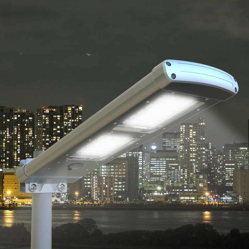 Lampione Stradale a Energia Solare 48 SuperLEDs PATHWAY - vendita