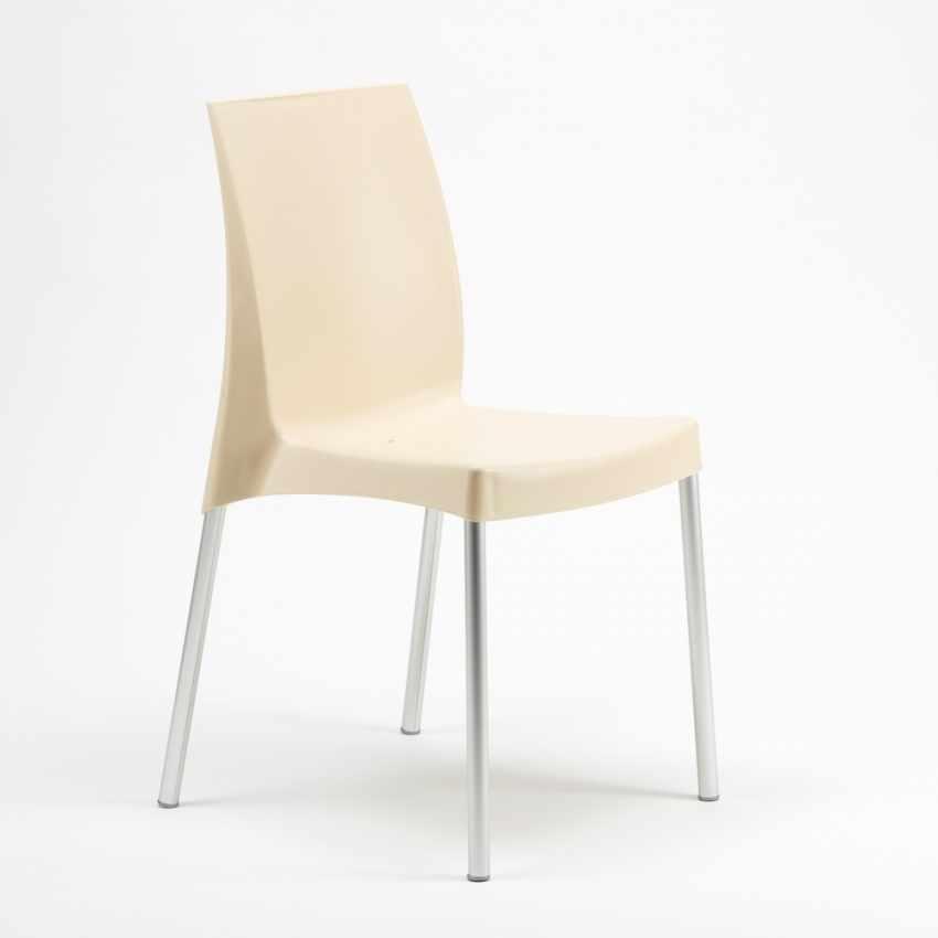 Sedia per bar e cucina in polipropilene con gambe in acciaio impilabile BOULEVARD Grand Soleil - prezzo