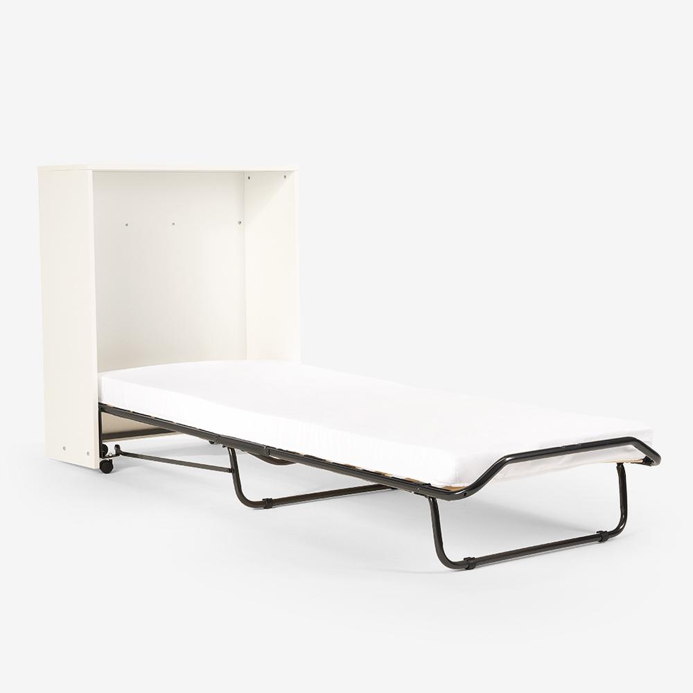 Brandina letto pieghevole con mobile materasso e doghe 80x190 ATENA - details