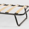 Brandina letto pieghevole con materasso ruote e doghe 80x190 ARES - offert
