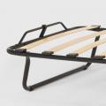 Brandina letto pieghevole con materasso ruote e doghe 80x190 ARES - details
