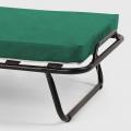 Brandina letto pieghevole con materasso ruote e doghe 80x190 ARES - promo