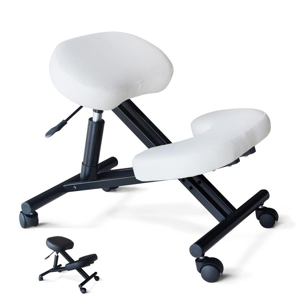 PN100GAS - Sedia ortopedica sgabello svedese metallo ufficio ergonomica Balancesteel -