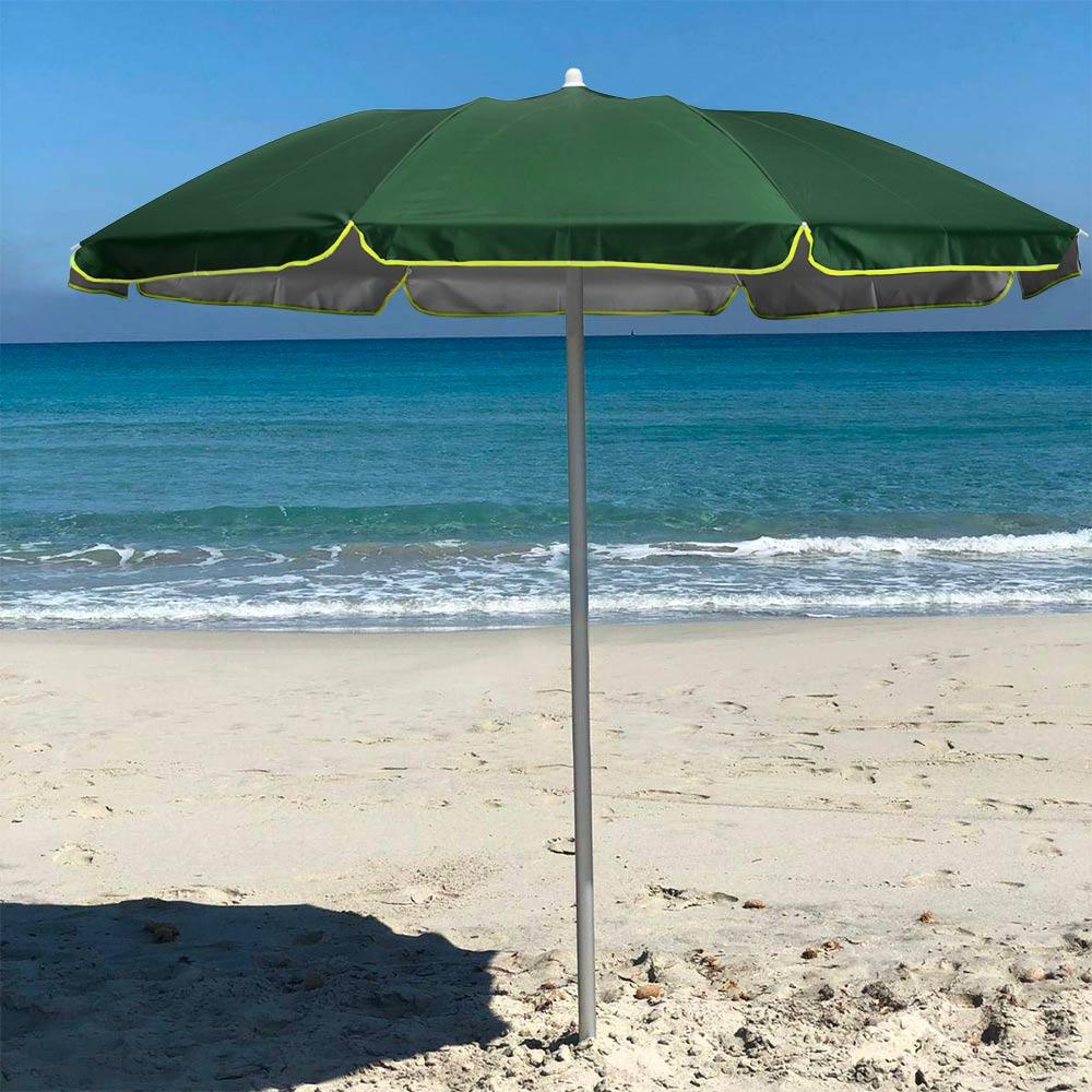 miniature 12 - Parasol de plage pliable portable leger voyage moto 180 cm Pocket