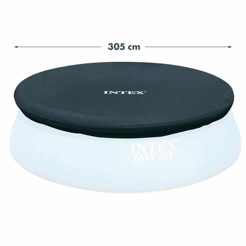 Bâche couverture Intex 28021 pour piscines hors-sol rondes 305 cm - price