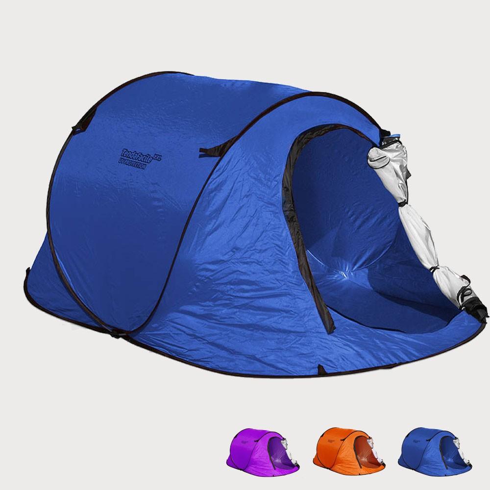 TF240UV - Tenda da spiaggia 2 posti mare TendaFacile Xxl campeggio camping -