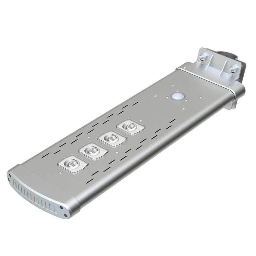 Lampadaire solaire Led 3000 Lumen avec télécommande SMART OPTIUM - image