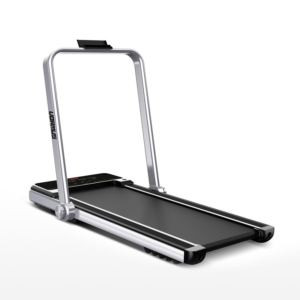 Tapis roulant elettrico fitness pieghevole salvaspazio digitale Vormus