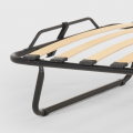 Brandina letto pieghevole con materasso e doghe microfibra 80x190 APOLLO - details