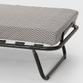 Brandina letto pieghevole con materasso e doghe microfibra 80x190 APOLLO - image