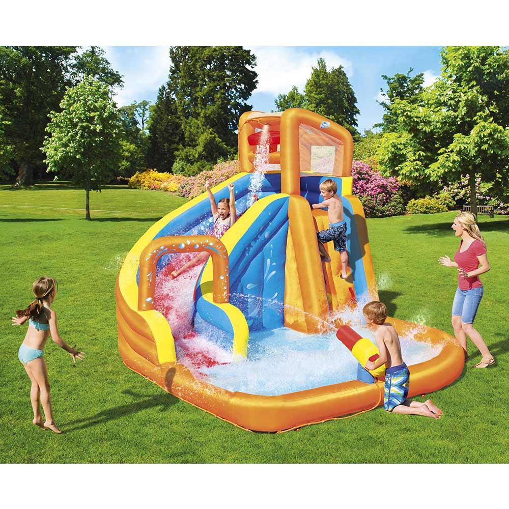 Bestway 53301 parco giochi acquatico piscina gonfiabile Turbo Splash Water Zone Constant Air - Detail
