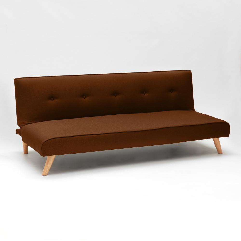 miniature 63 - Canapé-lit convertible 2 places Larimar en tissu pour le salon et le séjour