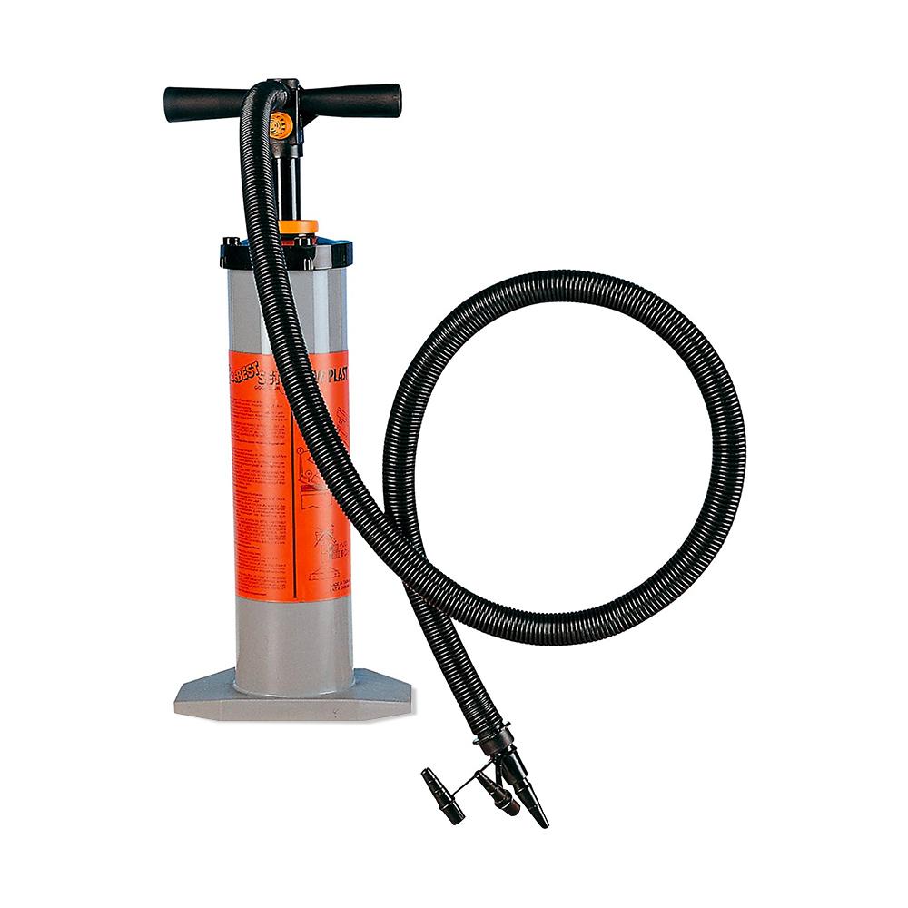 Pompa di gonfiaggio doppio flusso manuale New plast 1016