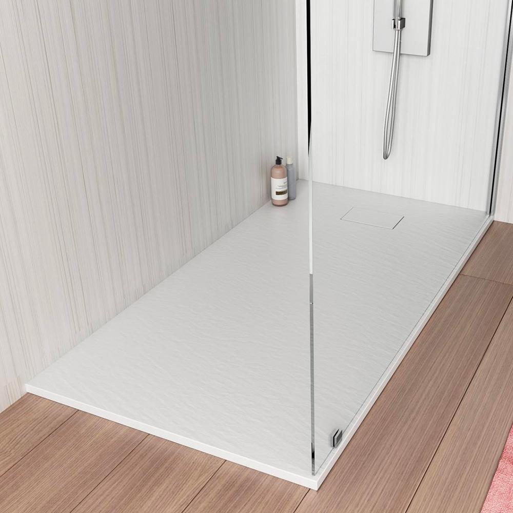 Stone Piatto Doccia Filo Pavimento 120x70 Bagno Box Moderno