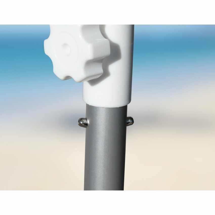Sonnen Strandschirm Alu windfest UV Schutz 240 cm ROM - price