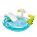 Piscina gonfiabile bambini Intex 57165 Gator Play Center Gioco
