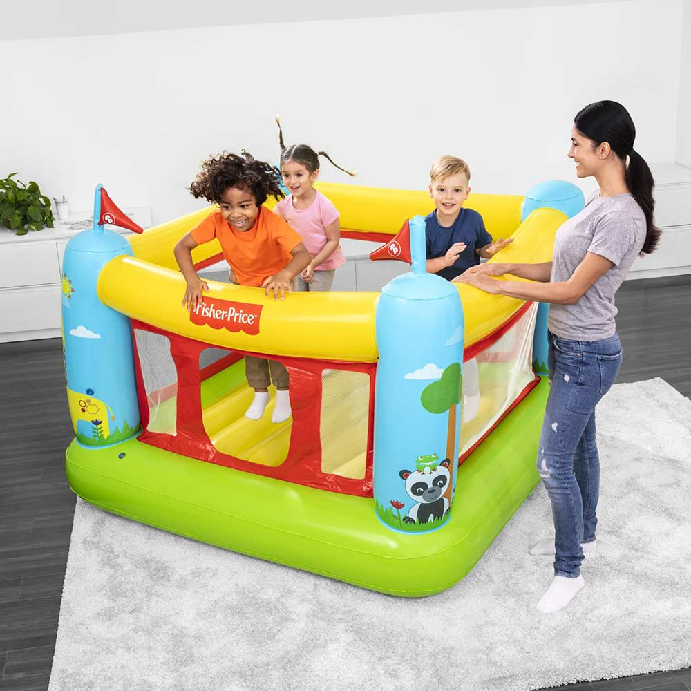 Bestway 93553 saltarello gonfiabile per bambini casa e giardino Fisher-Price Bouncestatic - am besten
