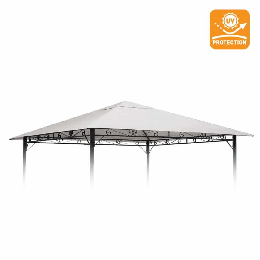 Replacement cover 3x3m for STYLE gazebos UV protection - promo
