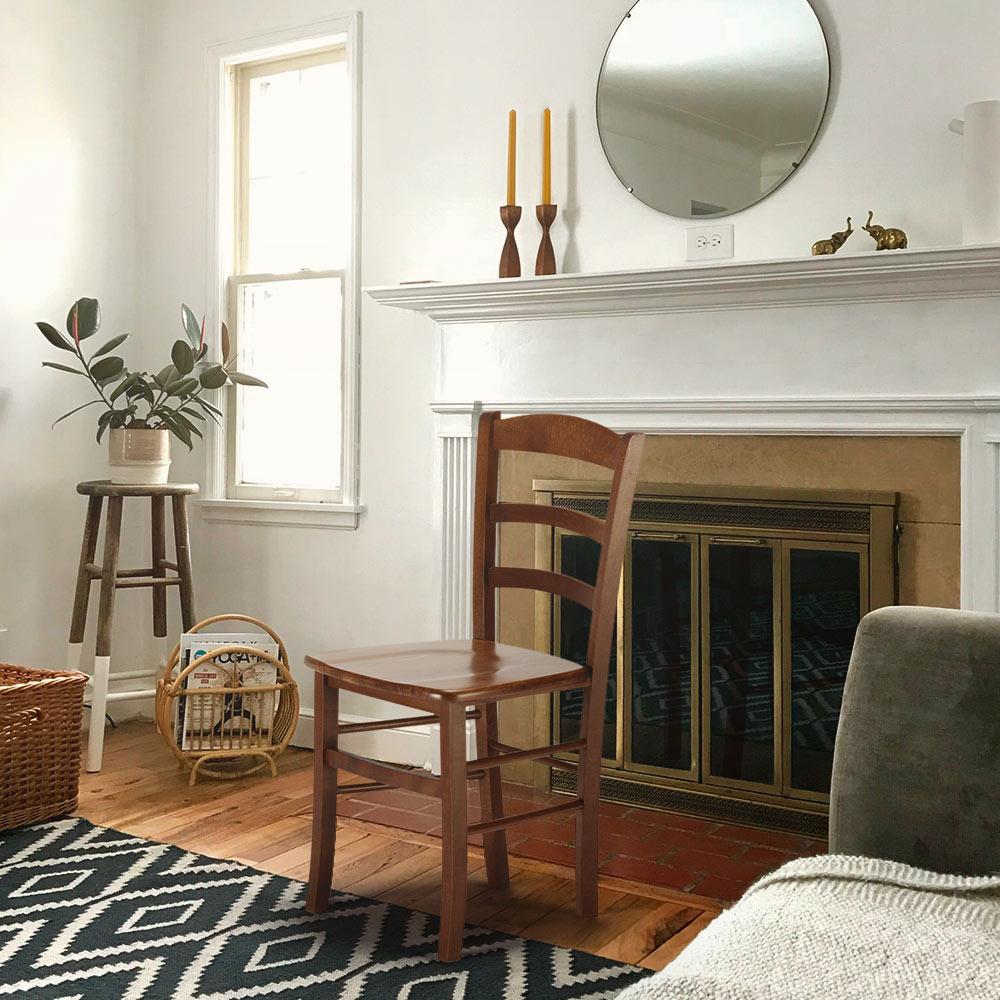 Sedie in legno classiche rustiche per sala da pranzo bar e ...