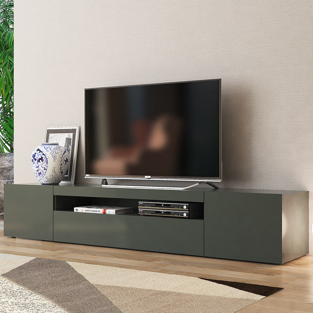 mobili porta tv DAIQUIRI ANTHRACITE L