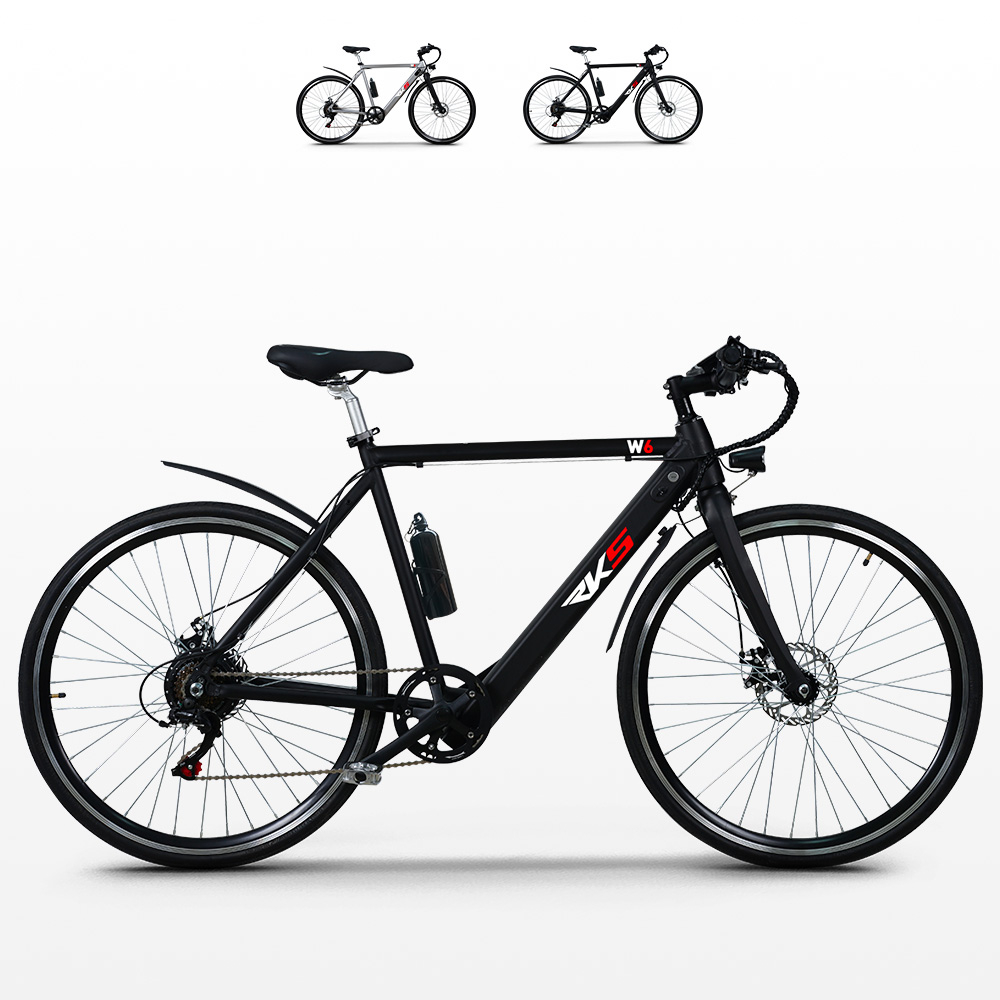 Bicicletta elettrica ebike city bike da uomo 250W Shimano W6 - Bilder