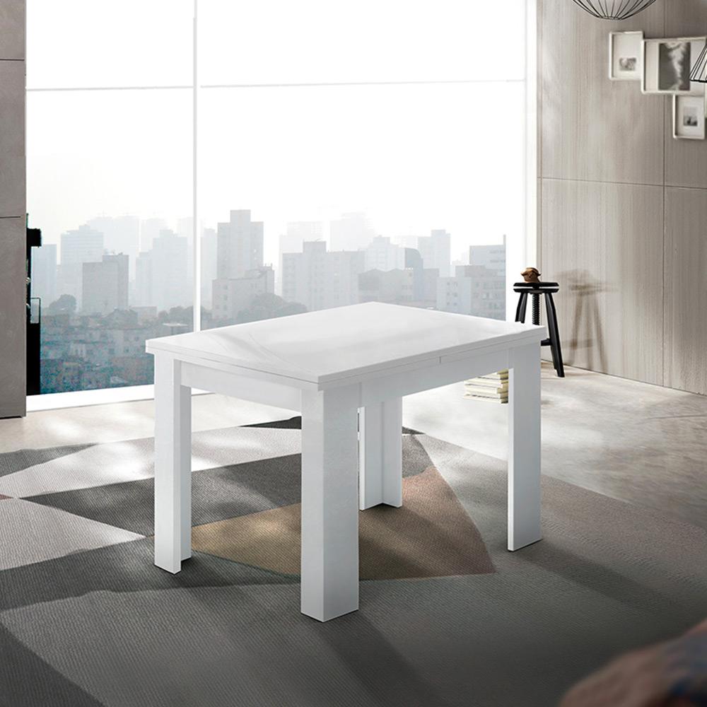 Tavolo da pranzo consolle allungabile a libro design moderno bianco Jesi Liber - Verkauf
