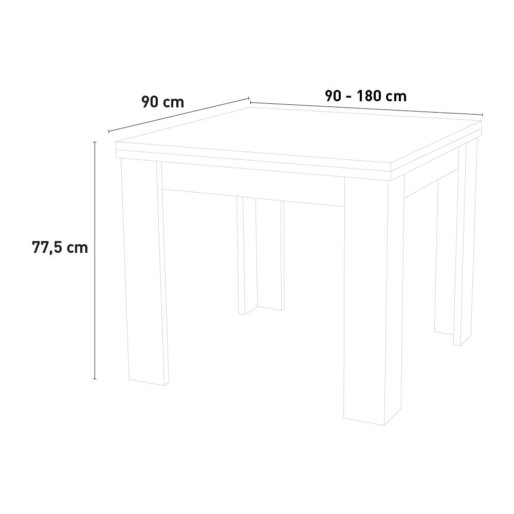 Tavolo Da Pranzo Consolle Allungabile A Libro Design Moderno Jesi Liber Ardesia
