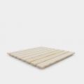 Piatto doccia da esterno in legno piscina giardino 80x80cm Arkema Design Ecowood D107