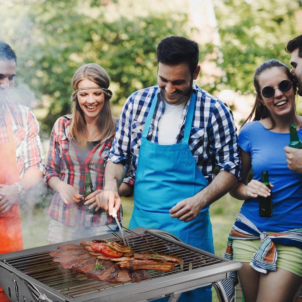 barbecue portatili da campeggio a carbonella OAK MR TUZZA