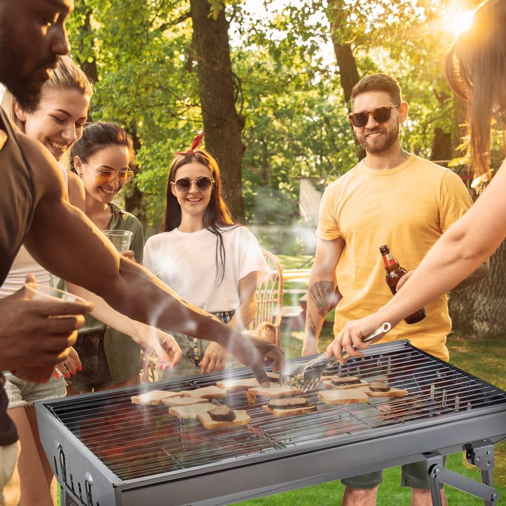 barbecue portatili campeggio bbq ASH MR TUZZA