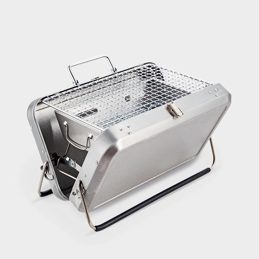 Barbecue valigetta portatile pieghevole griglia carbonella Jujube