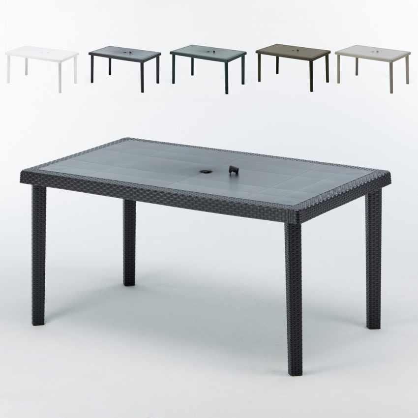 Tavoli In Rattan Sintetico Offerte.Offerta 12 Tavoli In Polyrattan Da Esterni Bar Ristorante Boheme