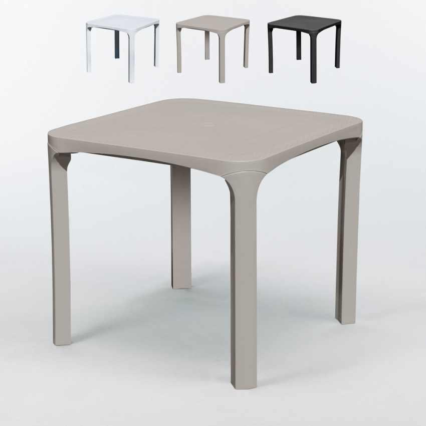 Offerte Tavoli In Plastica.14 Tavoli Grand Soleil Ole Bar Polyrattan Quadrati 80x80 Offerta Stock