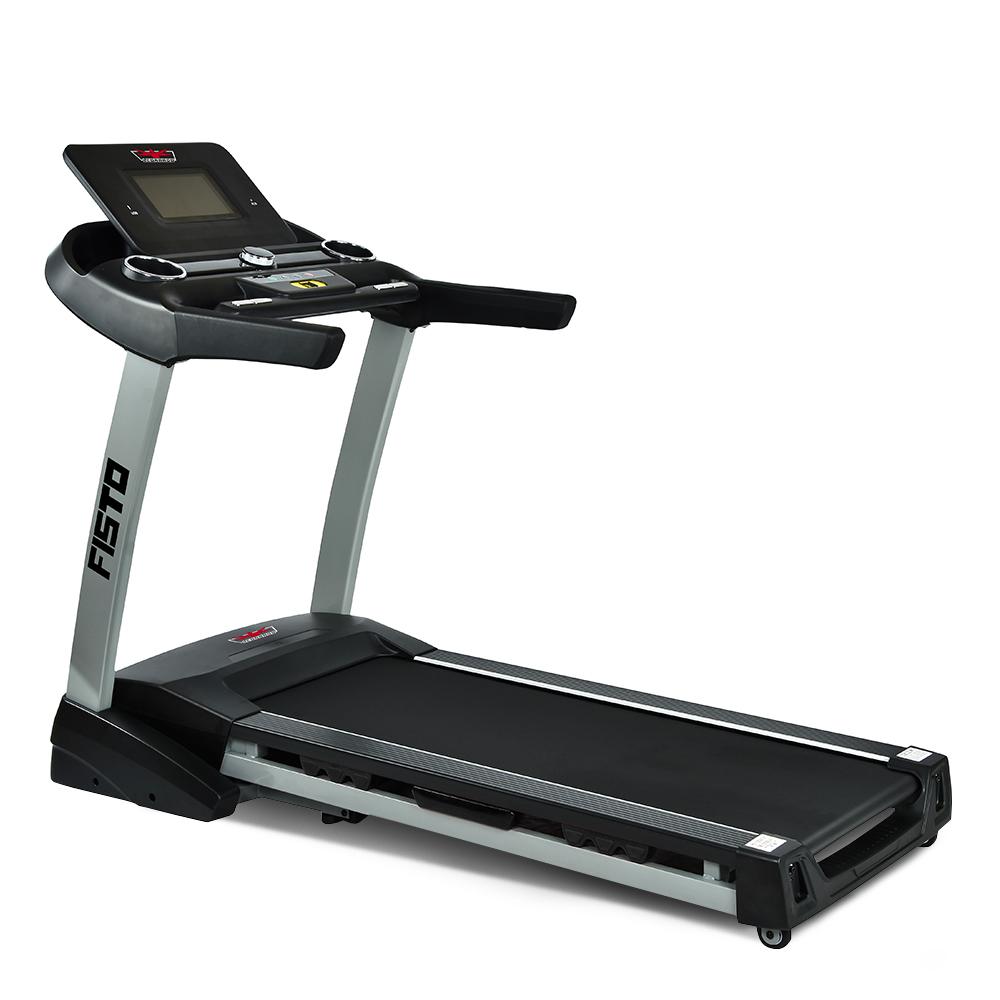 Tapis roulant elettrico professionale fitness pieghevole ammortizzato inclinazione Fisto