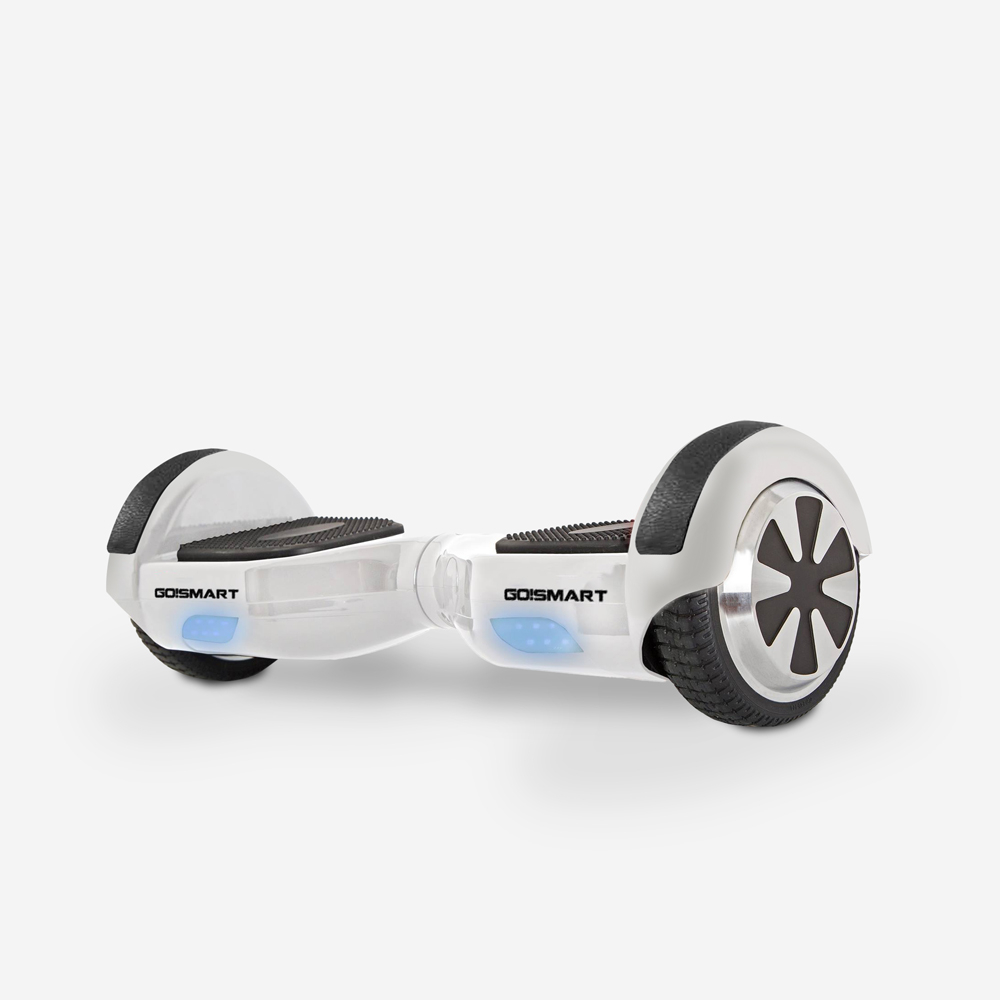 Hoverboard elettrico ruote 6.5 pollici motore 350W autobilanciato con LED Go Smart