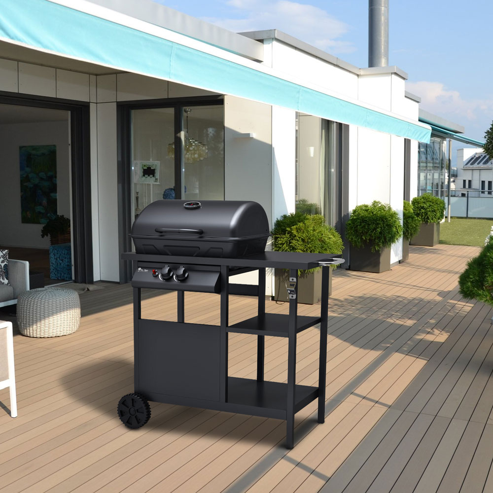 barbecue a gas BAGNET VERD