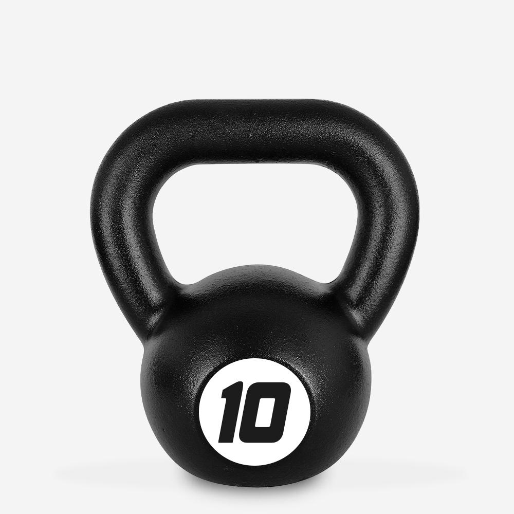 Kettlebell in ferro peso 10 kg sfera maniglia crossfit fitness Kotaro