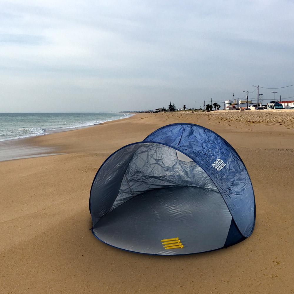 miniature 17 - Tente 2 places pare-soleil de plage abri soleil camping TENDAFACILE