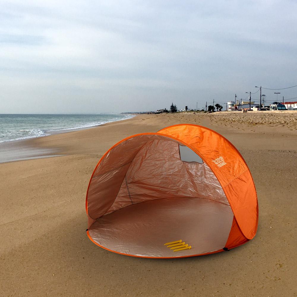 miniature 13 - Tente 2 places pare-soleil de plage abri soleil camping TENDAFACILE