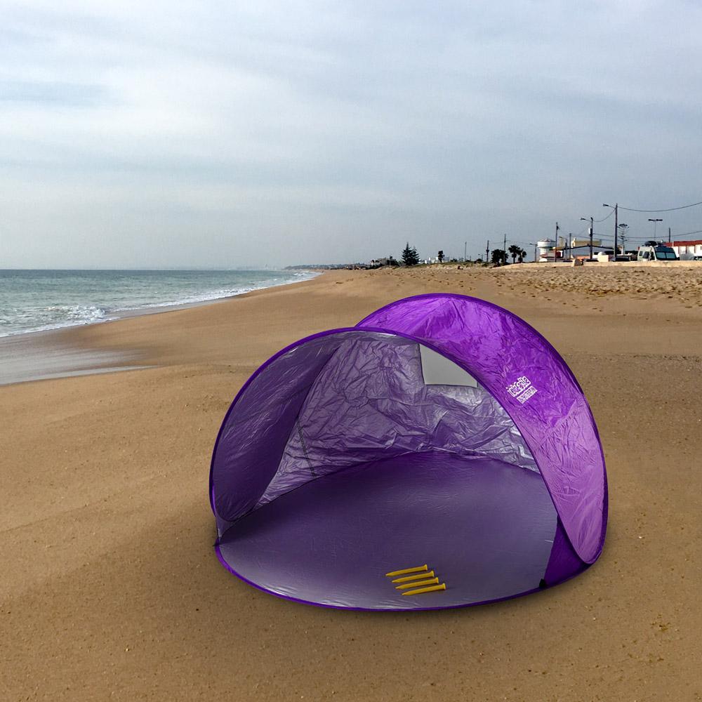 miniature 21 - Tente 2 places pare-soleil de plage abri soleil camping TENDAFACILE