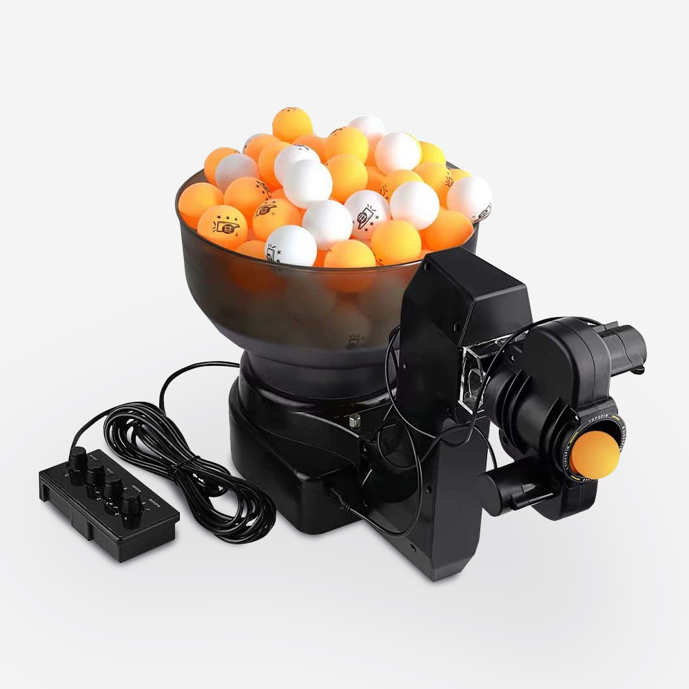 robot lancia palline da ping pong BAZUKA